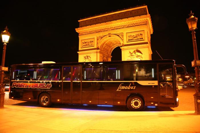 ev nement entreprise partybus paris location de limobus pour vos soir es. Black Bedroom Furniture Sets. Home Design Ideas